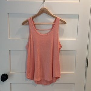 Zella open back tank